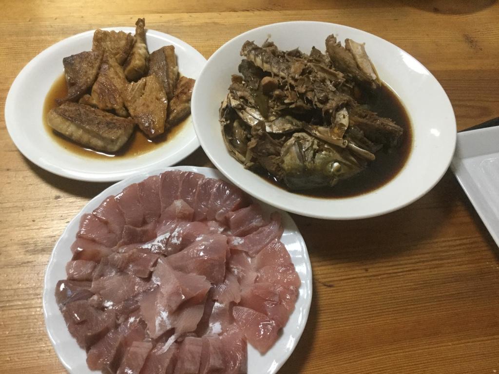 ツバス(ブリ)の刺し身・照り焼き・アラ煮をつくってみた!【釣り魚レシピ】