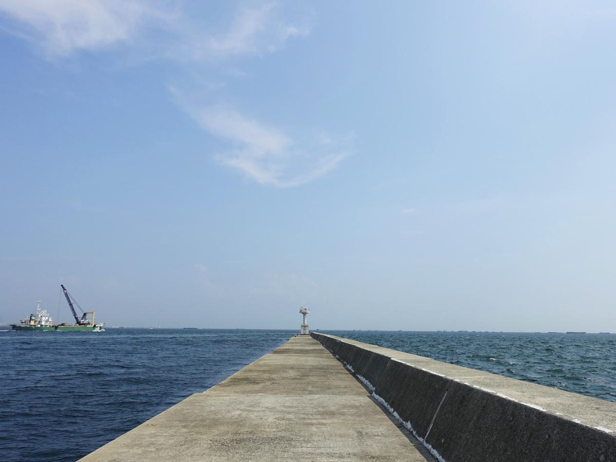 【釣り場紹介】西宮ケーソンの釣りポイント・アクセス・釣れる魚種まとめ